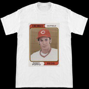 Macho Man Randy Savage Poffo Baseball T Shirt